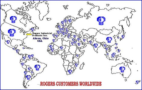 Countries Rogers does business in